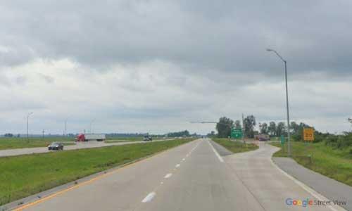mo i57 rest area southbound mile marker 18
